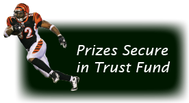 All league prizes secured in trust at Fidelity.com