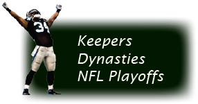 Keeper leagues, dynasty leagues, playoff leagues